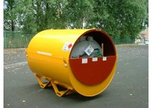 2140 Litre Bunded UN Approved Skid Base Fuel Bowser