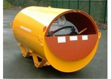 950 litre Bunded UN Approved Skid Base Fuel Bowser