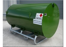 2500 Litre Bunded UN Approved Skid Diesel Bowser