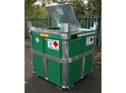 950 Litre Bunded Poly Cube Diesel Tank
