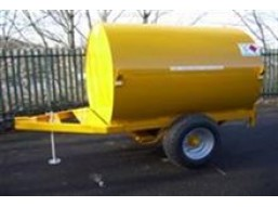 2140 Litre Bunded UN Approved Site Tow Fuel Bowser