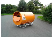 1500 Litre Bunded UN Approved Skid Diesel Bowser