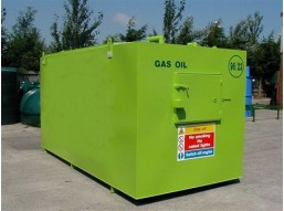 9000 Litre Steel Bunded Fuel Station