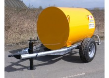 1000 litre Bunded Site Tow Diesel Bowser