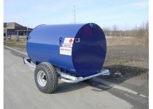 2500 litre Bunded Site Tow Diesel Bowser