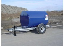 2000 litre Bunded Site Tow Diesel Bowser