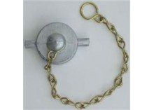 Aluminium Fill Point Tank Cap & Chain