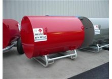 2000 Litre Bunded UN Approved Skid Diesel Bowser