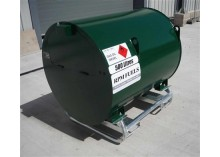500 litre Bunded UN Approved Skid Bowser