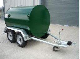 2000 litre Bunded UN Approved, Twin Axle, Highway Tow Diesel Bowser