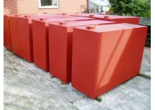 Steel 1350 Litre Single Skin Oil Tank